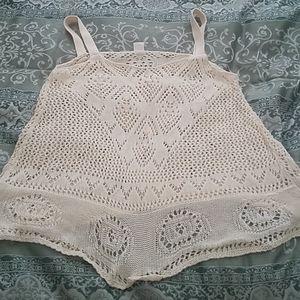 Adorable crochet tank
